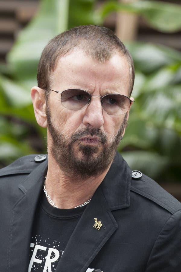 Ringo Starr imágenes de archivo libres de regalías
