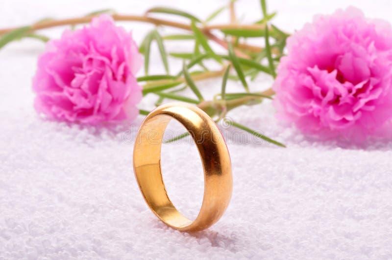 ringowy ślub obrazy stock
