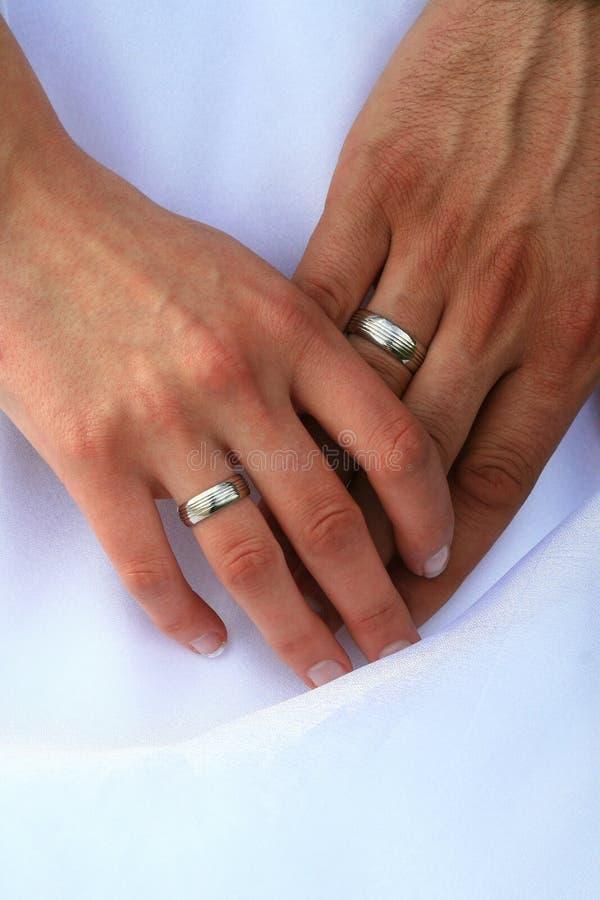 ringowy ślub fotografia royalty free