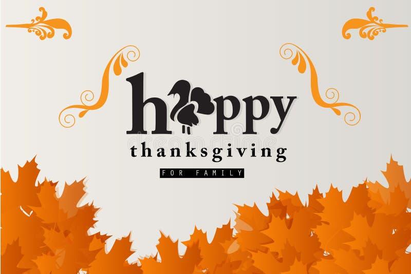 Ringraziamento felice immagini stock libere da diritti
