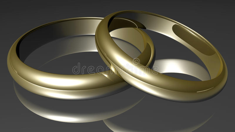 Rings stock illustration