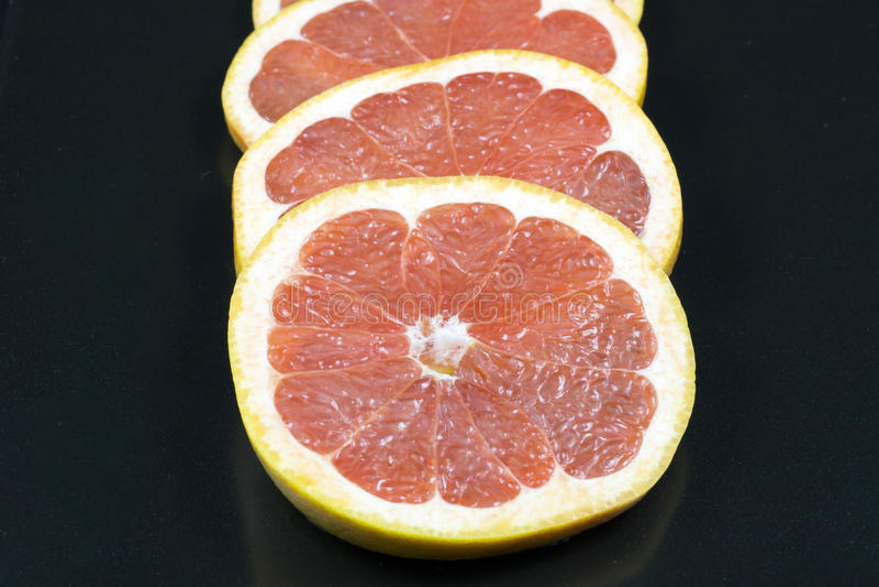 Download Rings Of Fresh Grapefruit Stock Photo - Image: 83712880