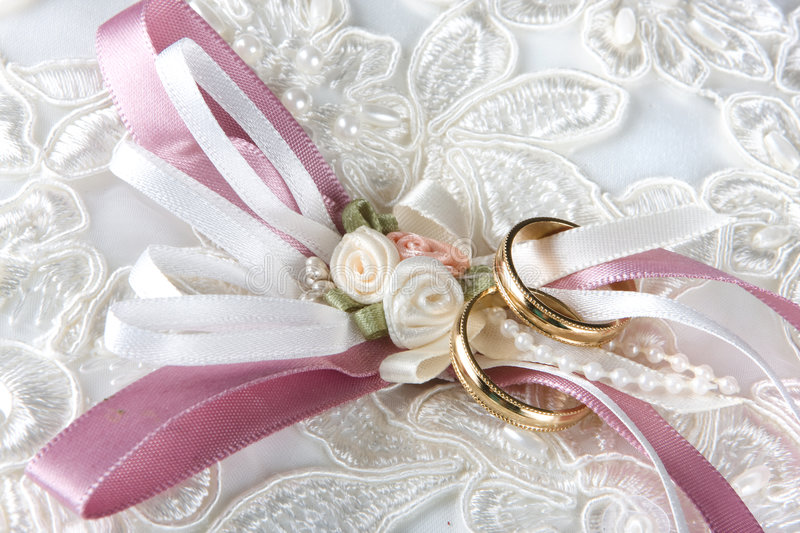 Download Rings and sequins stock photo. Image of pillow, beads - 7081908