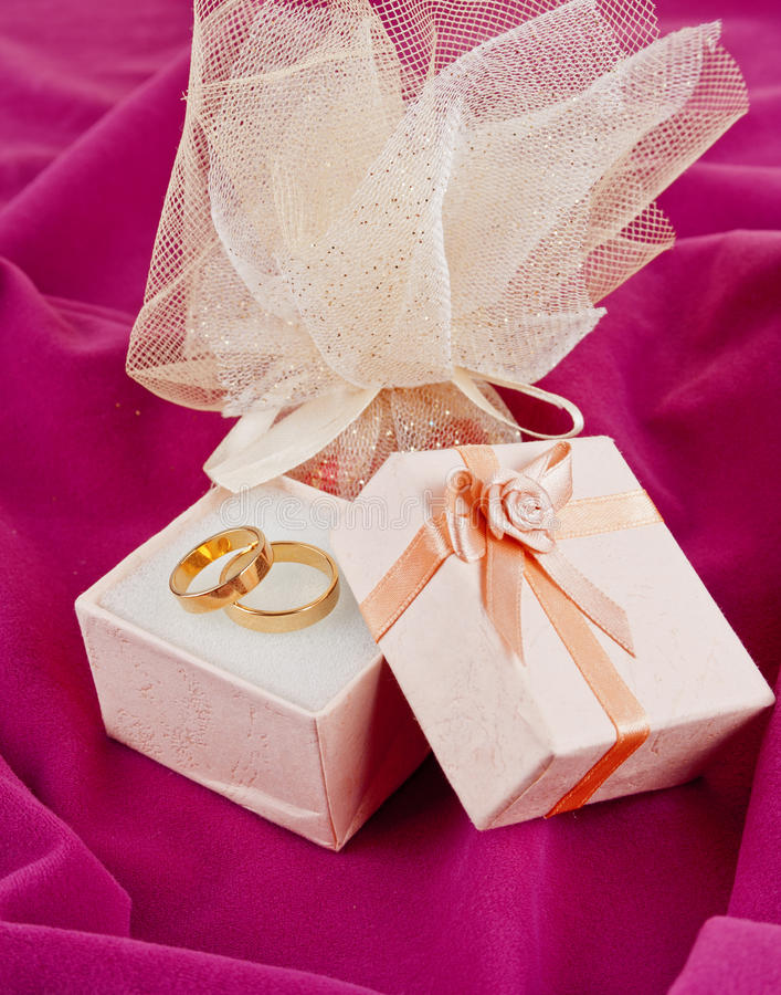 Download Rings  for Valentine's Day stock photo. Image of honeymoon - 22948224