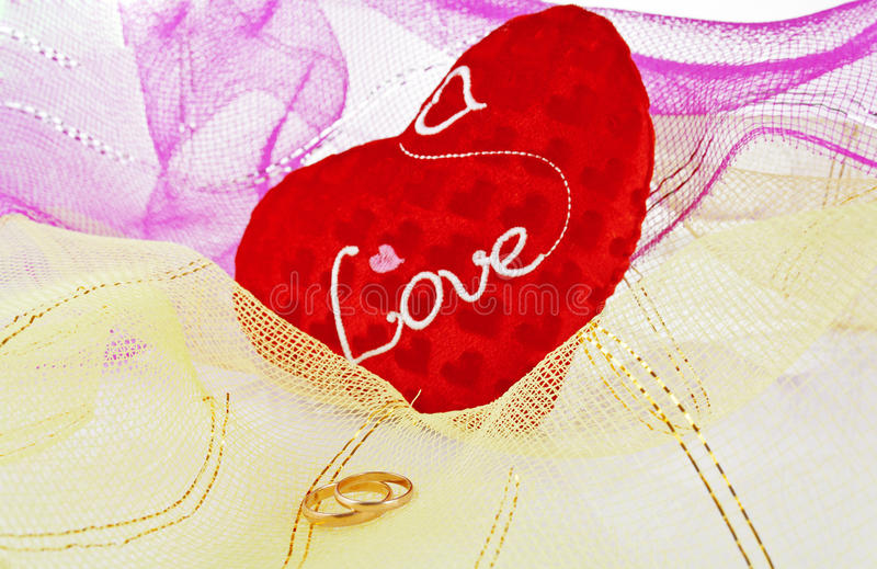 Rings  For Valentine S Day Royalty Free Stock Images