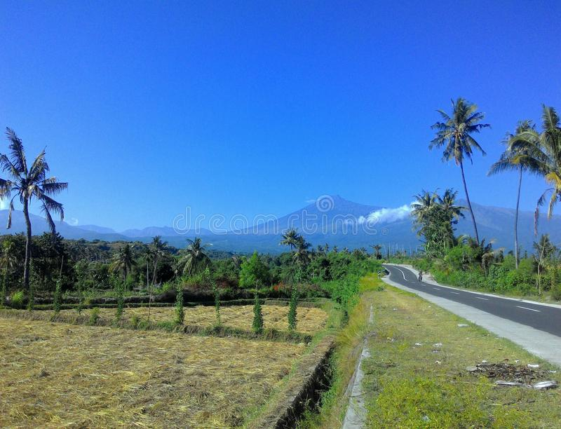 Rinjani Mount royalty free stock photography