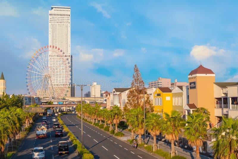 Rinku högvärdiga uttag i Osaka, Japan royaltyfri bild