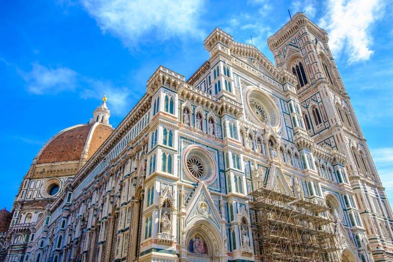 Rinnovamento alla cattedrale di Santa Maria del Fiore fotografie stock libere da diritti