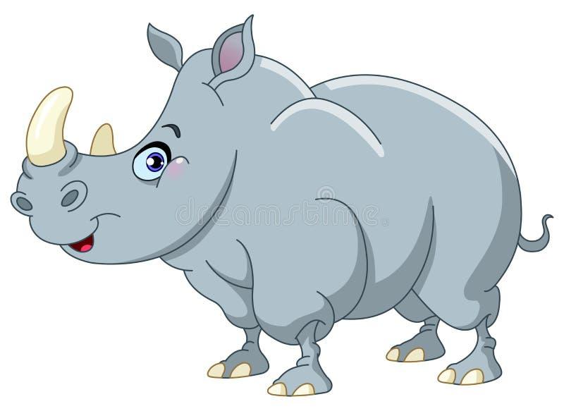 Rinoceronte ilustração royalty free