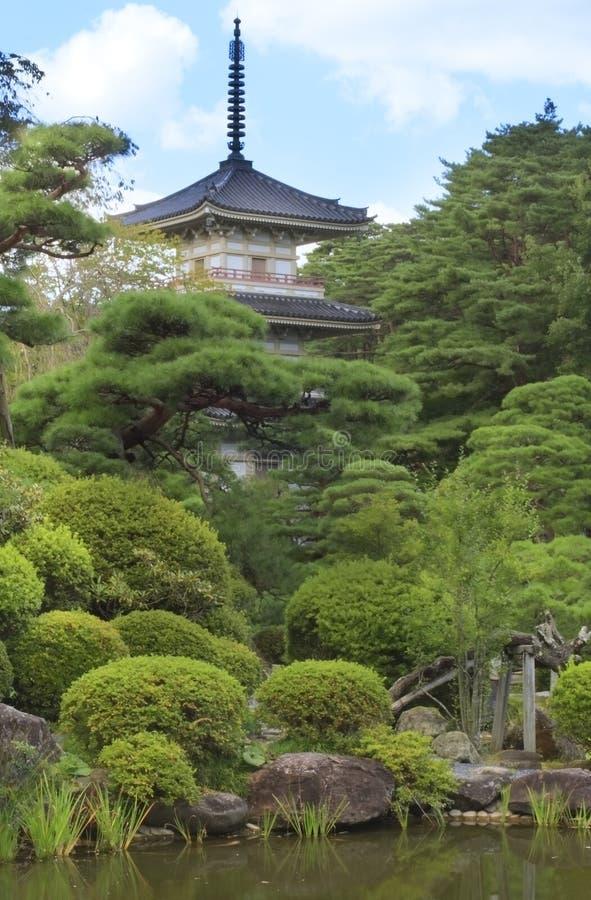 Rinoji Temple stock photo