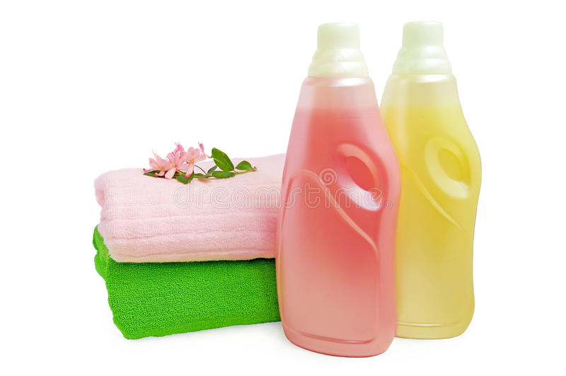 Download Rinser and towels stock image. Image of leaf, towel, refreshing - 14851921