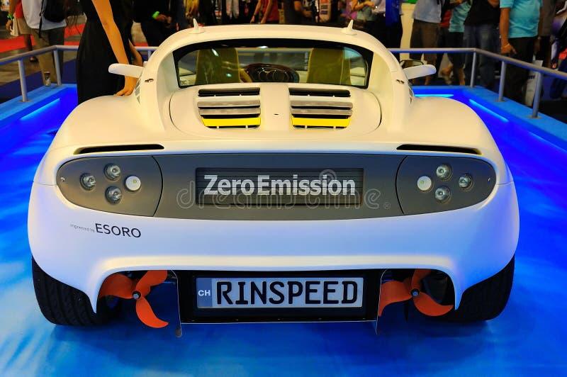 Rinspeed Squba Concept Car stock photos