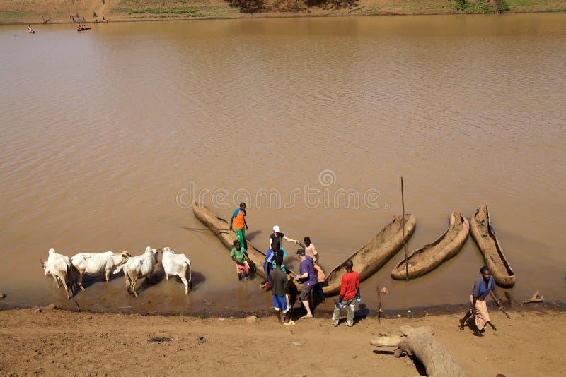 Rio africano imagem de stock royalty free