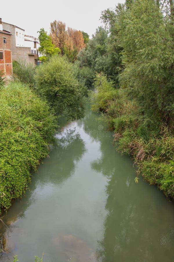 Rio Aguascevas dans Mogon, Jaen, Espagne image libre de droits