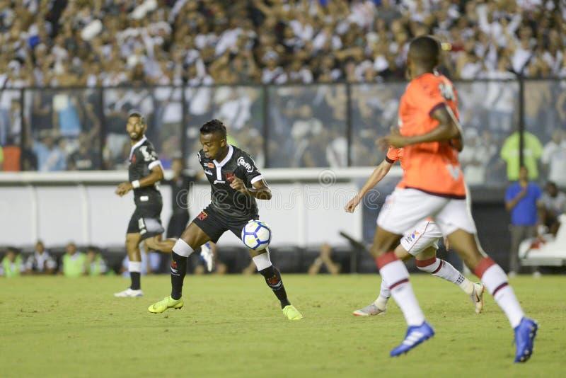 Rio, Brasilien - 14. November 2018: Kelvin-Spieler im Match zwischen Vasco und Atletico-PR durch die brasilianische Meisterschaft stockbilder