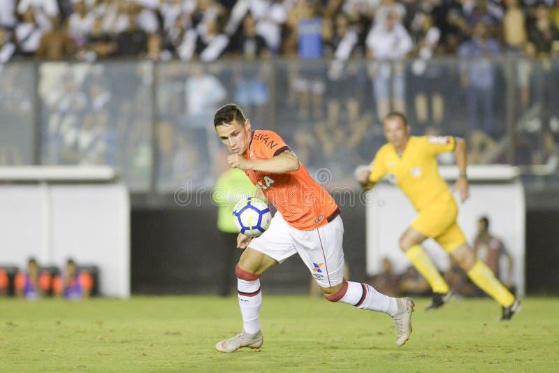 Rio, Brasilien - 14. November 2018: Kelvin-Spieler im Match zwischen Vasco und Atletico-PR durch die brasilianische Meisterschaft stockfoto