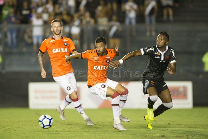 Rio, Brasilien - 14. November 2018: Kelvin-Spieler im Match zwischen Vasco und Atletico-PR durch die brasilianische Meisterschaft stockfotografie