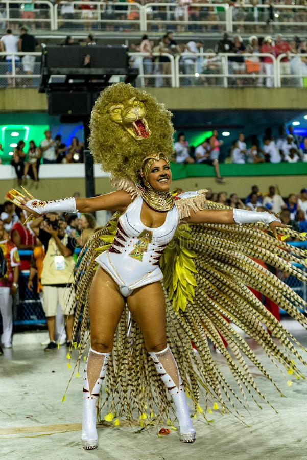 Carnival 2019 - Estacio de Sa royalty free stock images