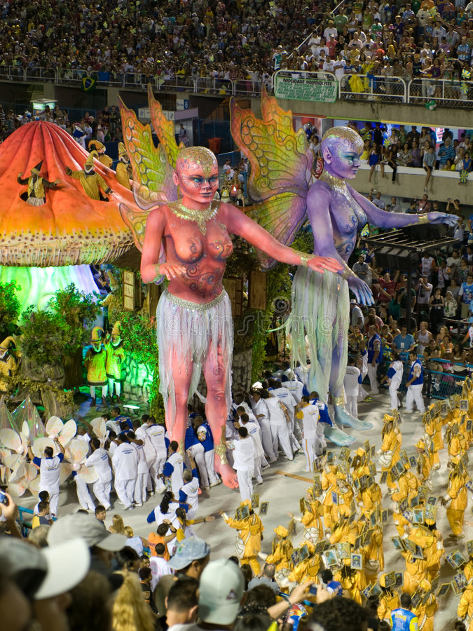 Download Rio Carnival. editorial stock image. Image of parade, south - 4445939