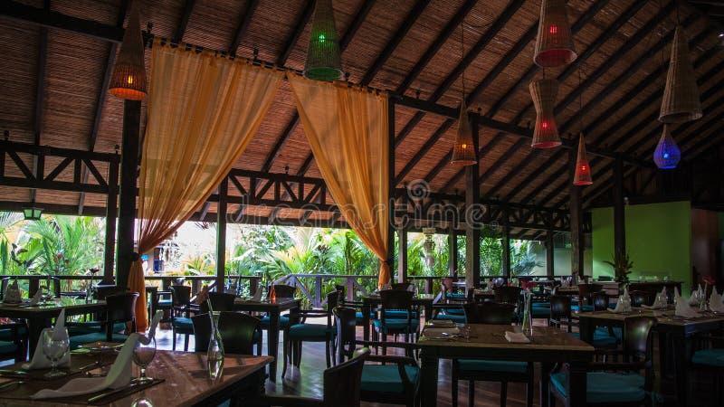 Rio Celeste Hotel immagine stock
