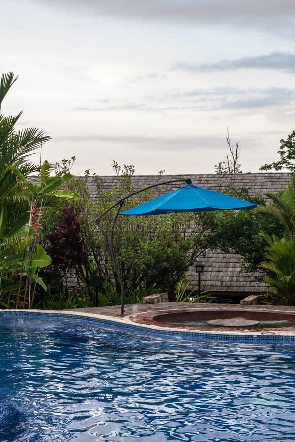 Rio Celeste Hotel Pool image libre de droits