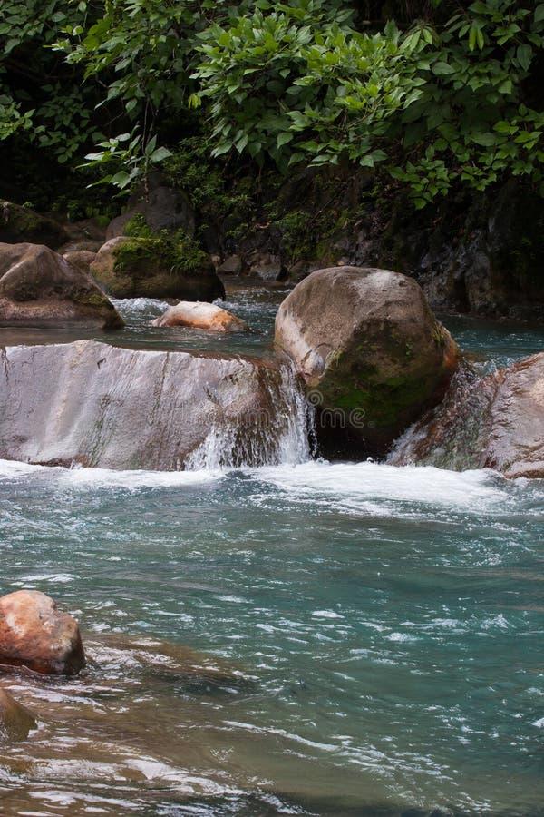 Rio Celeste River immagine stock libera da diritti