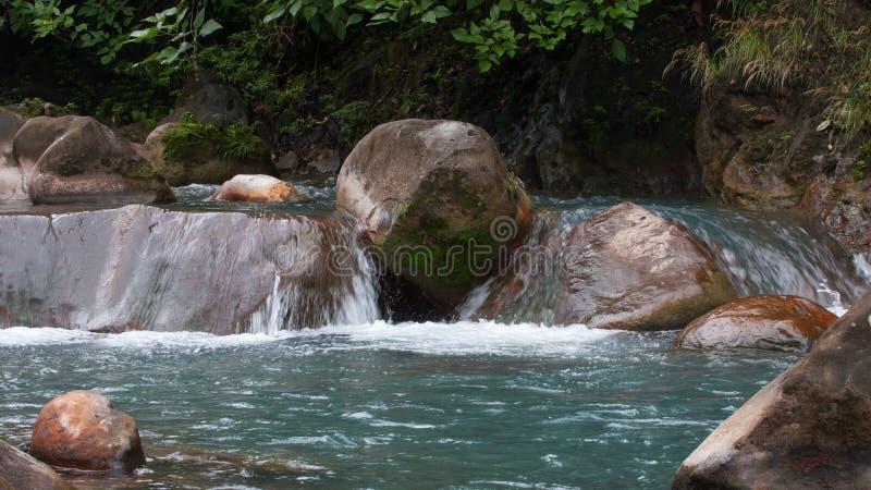 Rio Celeste River immagini stock libere da diritti