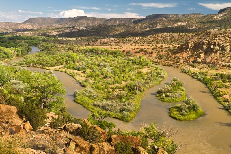 Rio Chama, New Mexico royalty free stock photo