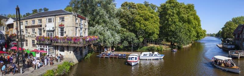 Rio Cherwell em Oxford imagens de stock royalty free