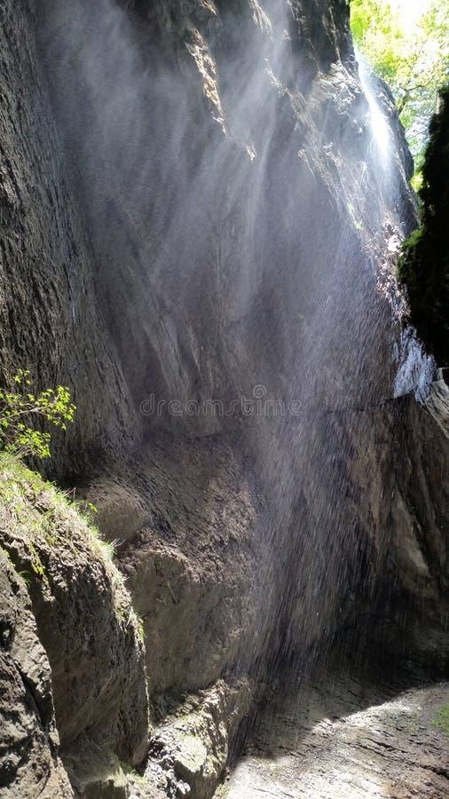 Rio da montanha em Partnachklamm imagem de stock royalty free