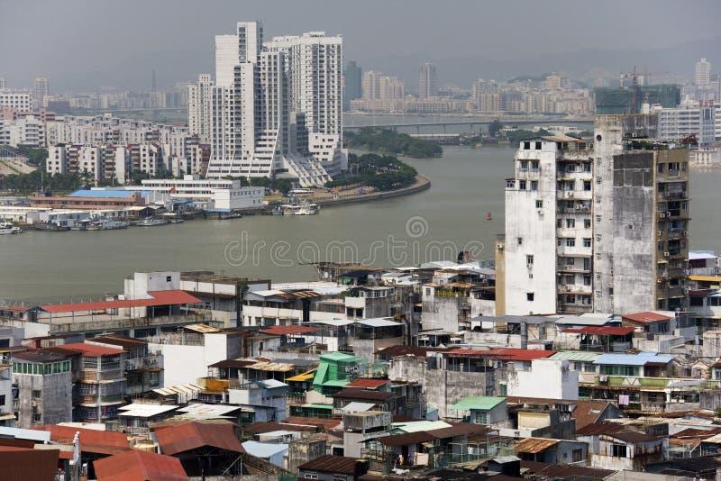 Rio da pérola de Macau à China continental imagem de stock royalty free