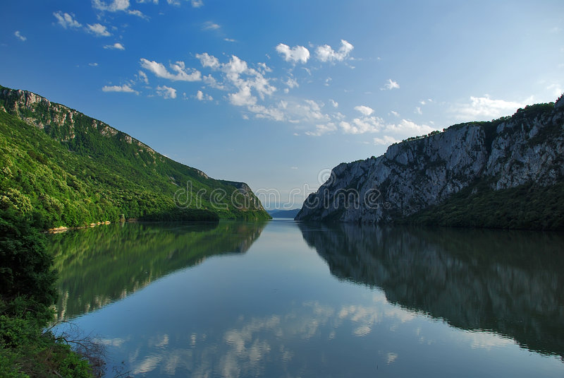 Rio Danúbio imagem de stock royalty free