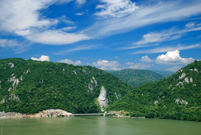 Rio Danúbio imagens de stock royalty free