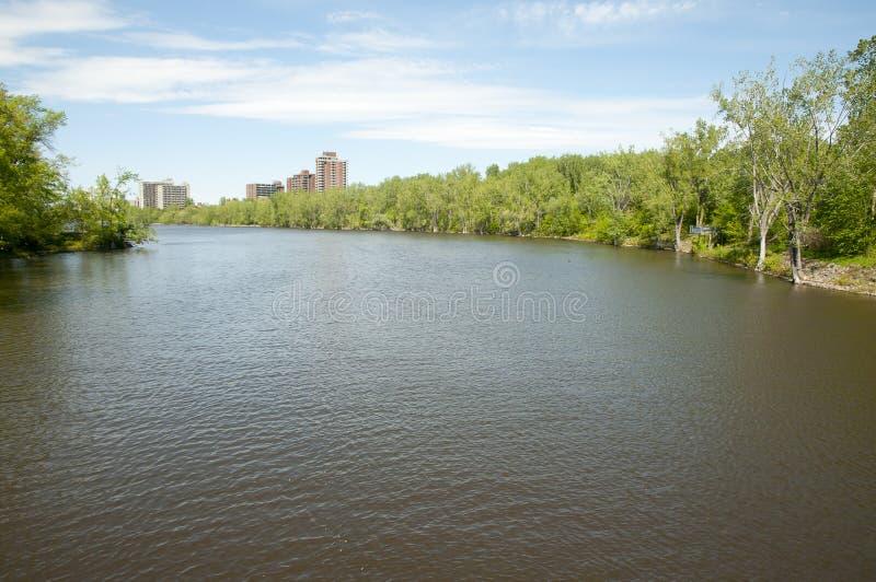 Rio das pradarias - Montreal - Canadá fotos de stock