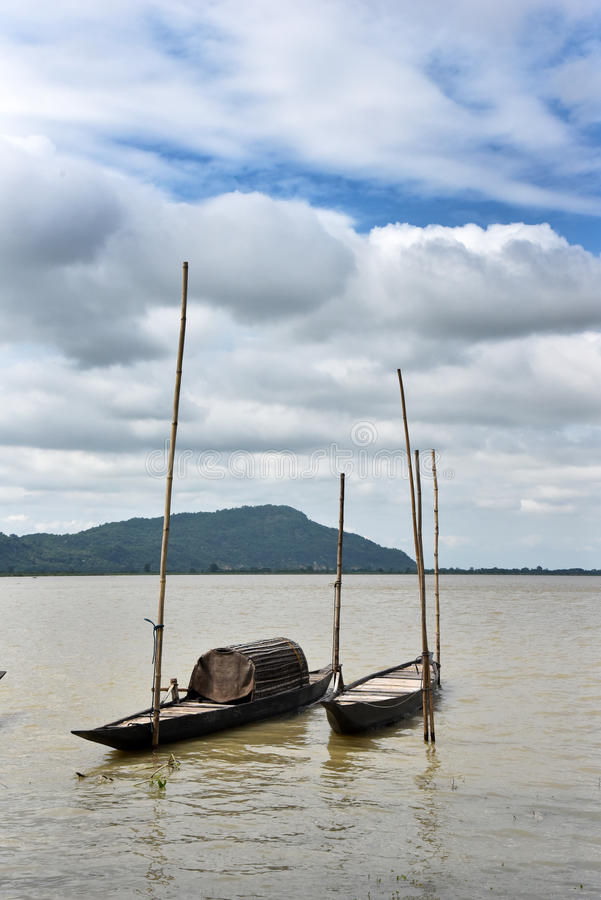 Rio de Assam imagens de stock
