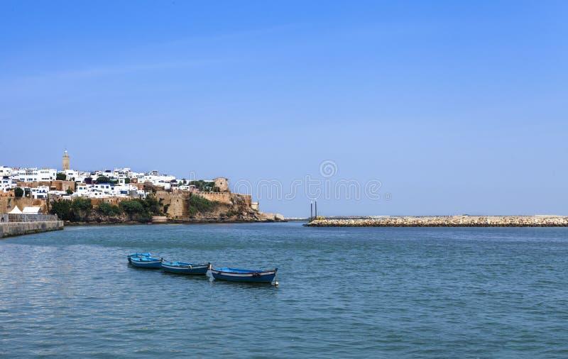 Rio de Bouregreg, Marrocos, África fotografia de stock