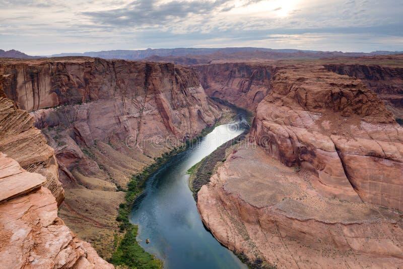 Rio de Colorado foto de stock royalty free