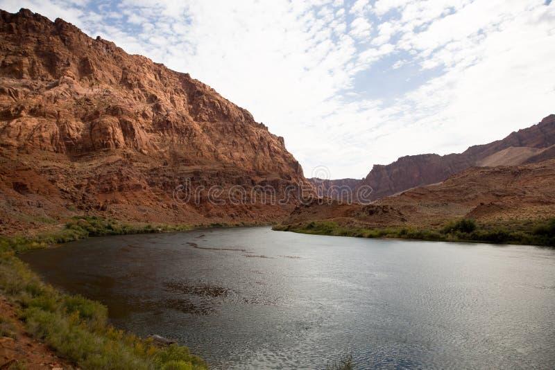 Rio de Colorado imagens de stock