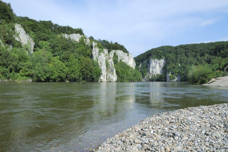 Rio de Danúbio foto de stock royalty free