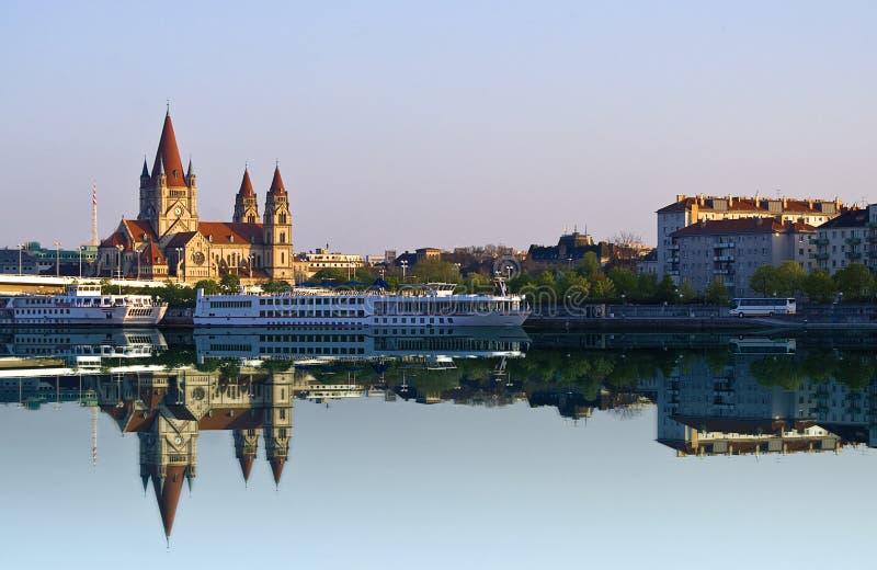 Rio de Danúbio imagem de stock royalty free