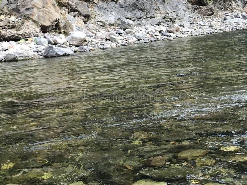 Rio de fluxo foto de stock
