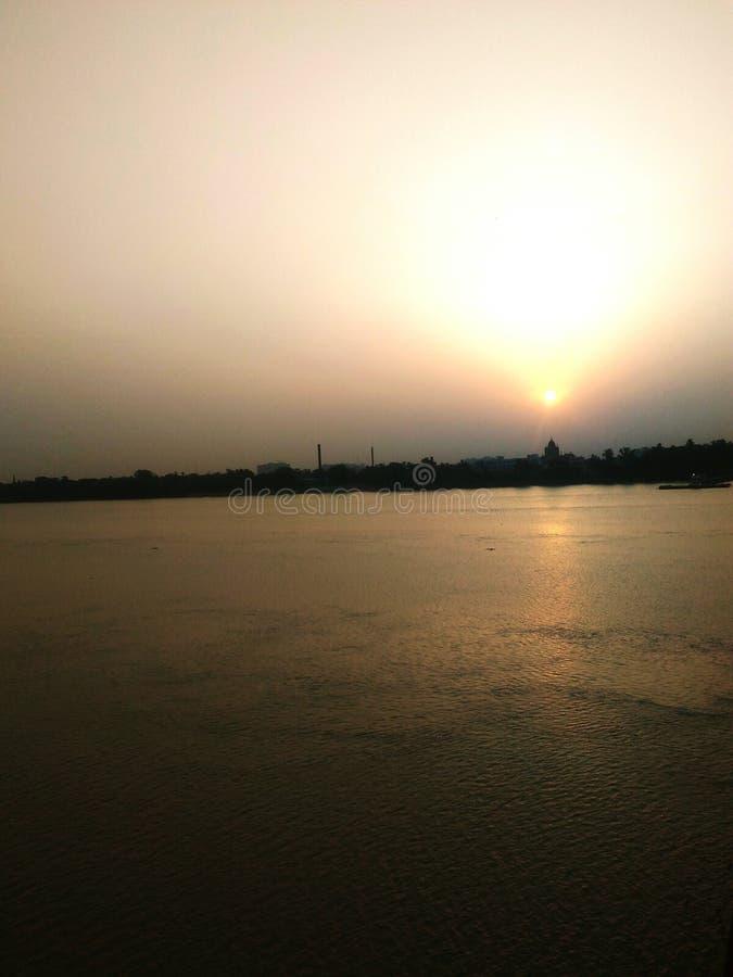 Rio de Ganga fotos de stock royalty free