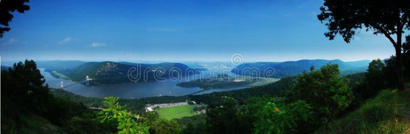 Rio de Hudson fotografia de stock