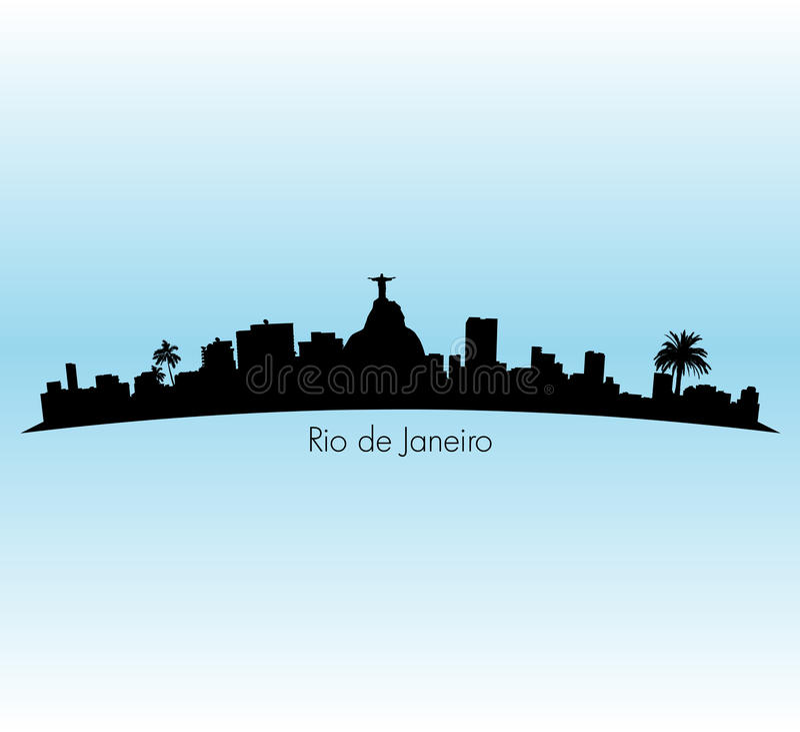 Rio de Janeiro ilustracji