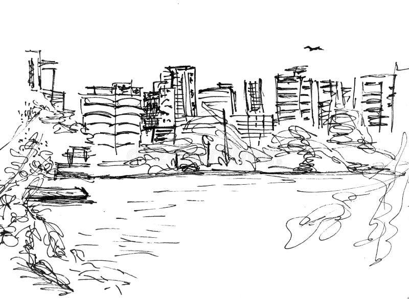 Rio de Janeiro ilustração do vetor