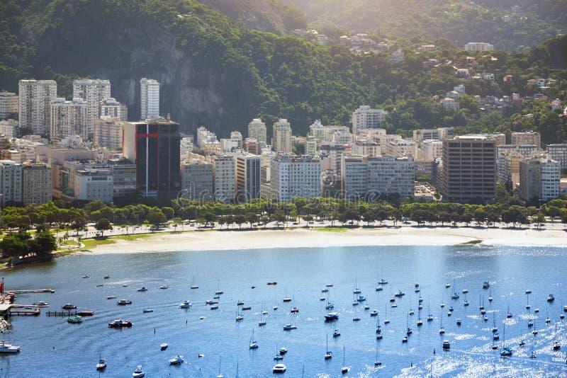 Rio de Janeiro aerial view stock images