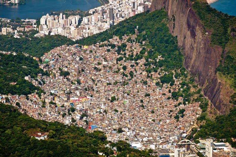 Rio de janeiro Aerial View cênico imagens de stock royalty free