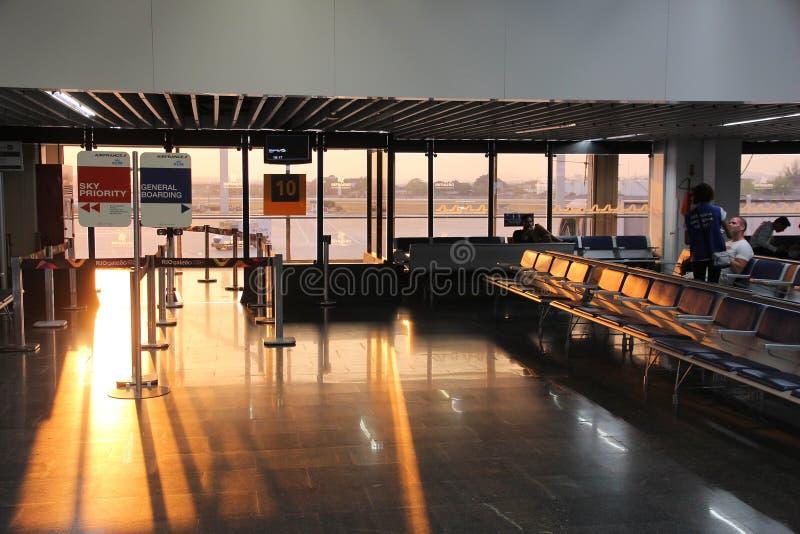Rio de Janeiro airport royalty free stock image