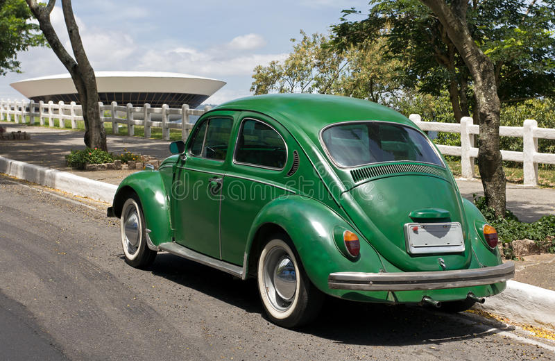 Rio de Janeiro - automobile dell'annata immagini stock libere da diritti