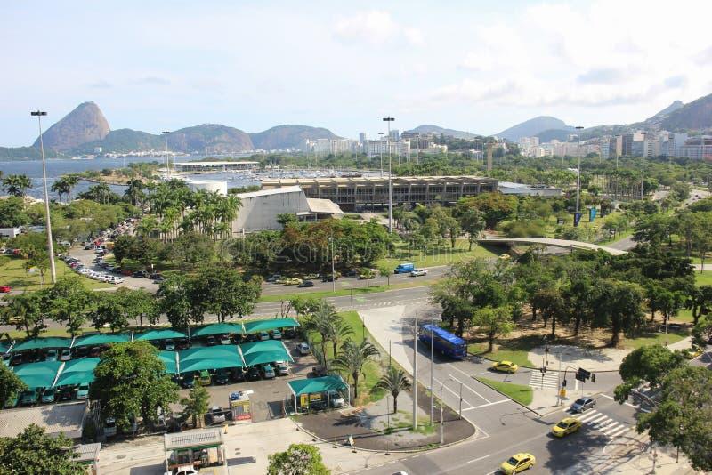 Rio de Janeiro bästa sikt arkivbild